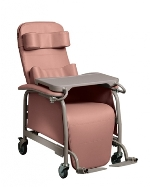 Lumex Tilt-In-Space Drop Arm Reclining Geriatric Chair 565TG